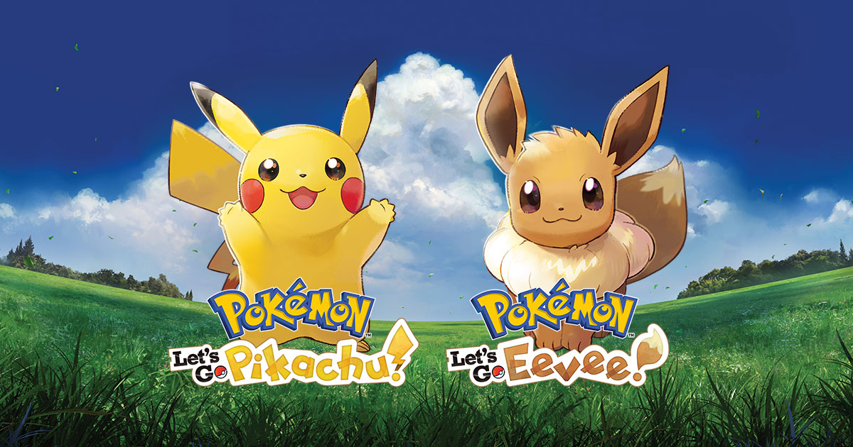 Pokémon Lets Go Pikachu And Pokémon Lets Go Eevee Meltan