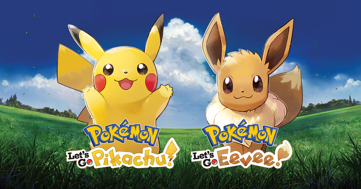 Pokémon: Let's Go, Pikachu! and Pokémon: Let's Go, Eevee! | Connect