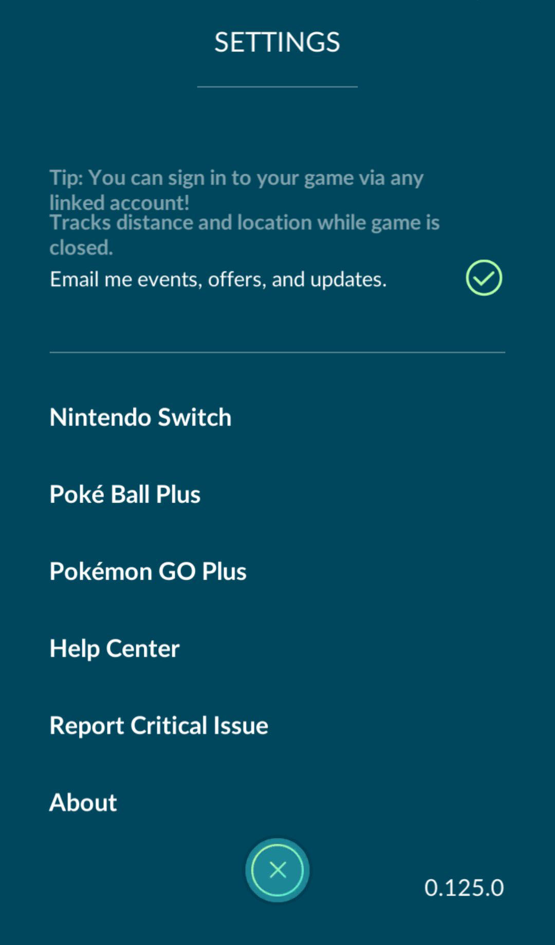 How to connect pokemon go to switch