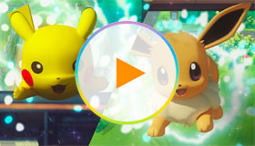 Pokémon Lets Go Pikachu And Pokémon Lets Go Eevee