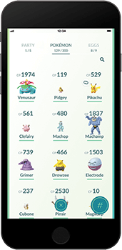 Connect to Pokémon GO