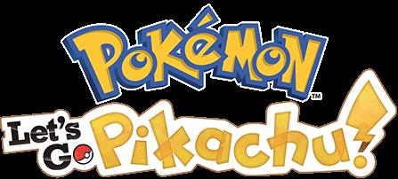 Resultado de imagem para Pokemon: Let´s Go Pikachu logo png